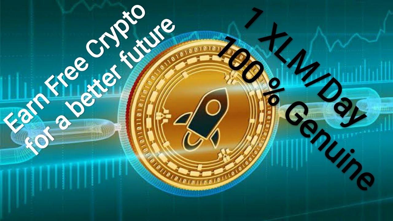 """Earn free Cryptocurrency# """"Stellar Lumens"""" (XLM) - Crypto ..."""